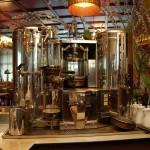 Historische Kaffeemaschine